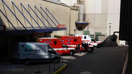 Houston Methodist Hospital in Houston, Texas, US, 2020. © Callaghan O'Hare/Reuters