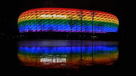 The Allianz Arena is at the center of a rainbow-related row © Andreas Gebert DFL / Reuters