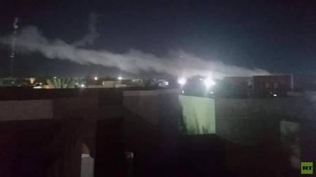 Explosions on the Syrian-Iraqi border