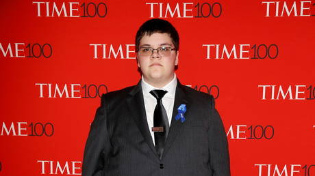 FILE PHOTO: Gavin Grimm arrives for the Time 100 Gala in New York City, April 25, 2017 © Reuters / Carlo Allegri