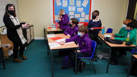Covid-related absences from schools in England hit 375,000 on one day in June, Department of Education figures show