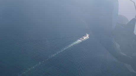 WATCH: Dutch navy ship intercepted by jets after turn towards Russian waters, Moscow says –  Amsterdam blasts 'dangerous' flyover