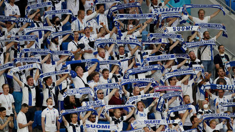 Finland suggests increase in Covid cases is linked to fans returning from St. Petersburg following Euro 2020