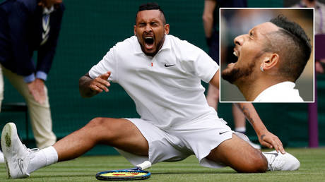 'I smashed so much food': Tennis wildman Kyrgios ousts seed in epic return after explicit rant, then predicts end of Covid (VIDEO)