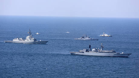 FILE PHOTO: Multinational maritime exercise Sea Breeze 2020 in the Black Sea
