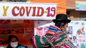 Peru almost TRIPLES its Covid-19 death toll after revising counting method a week before key election