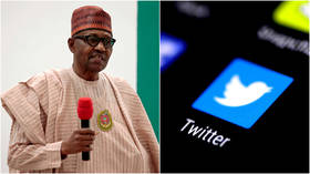 Twitter scrubs Nigerian president's post & suspends account for 'abusive behavior' after tweeting warning to rebels