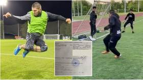Khabib receives CONTRACT OFFER from Russian football club asking UFC star to name his price after displaying goalscoring exploits