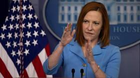 """Schließlich nach Fauci-E-Mails gefragt, sagt das Weiße Haus, es sei """"nicht vorteilhaft"""", Nachrichten """"von vor 17 Monaten"""" zu diskutieren."""