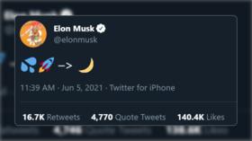 'CumRocket' crypto coin pumps after Elon Musk tweets suggestive emojis