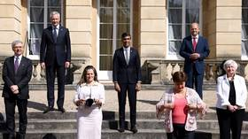 G7 finance ministers reach 'historic agreement' on Biden's push for global minimum corporation tax of 15%