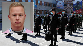 Service disruption: Formula One driver Nikita Mazepin's Haas racing career could be halted by Russian army call, says his father