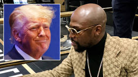 Boxing clever: Donald Trump 'took lessons' from 'instinctive genius' Floyd Mayweather, claims report ahead of Logan Paul fight