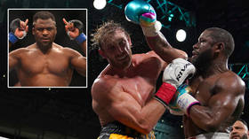 'What are we doing wrong?' UFC champ Francis Ngannou in pay potshot as he claims Logan Paul made $20MN from Floyd Mayweather fight