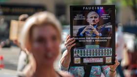 'Fire Fauci!' Protesters flock to Harlem church-turned-vaccination site during visit of coronavirus tsar & Jill Biden (VIDEO)