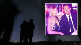 Football star Chris Smalling 'saw crazy UFO in the sky but had not taken magic mushrooms', promises his 'gobsmacked' model wife