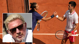 'I changed my underwear': Djokovic takes 'mental reset' as he breaks another record... and icon Becker blasts his teenage opponent