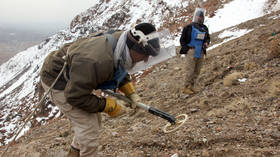 10 mine-clearing workers killed in Afghanistan, Taliban denies responsibility for attack