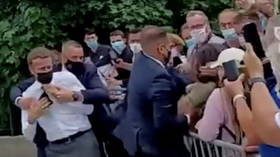 Man who slapped Macron is medieval LARP geek who lives with his mother – French media