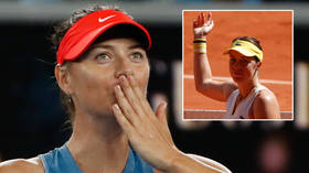 Sharapova shows her love for Pavlyuchenkova after tennis queen breaks duck to end seven-year final wait for Russian women in Paris
