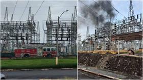Massive fire & explosion at San Juan power plant triggers blackouts across Puerto Rico (VIDEOS)
