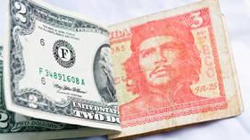 Cuba suspends dollar cash deposits in banks due to US sanctions