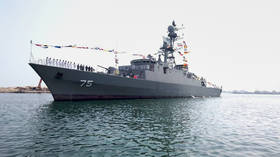 Iran's navy launches new indigenous destroyer and minehunter (VIDEO)