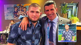 Khabib Nurmagomedov tips two teams to win Euro 2020 – then Real Madrid fan shares photo with club legend Luis Figo in Russia