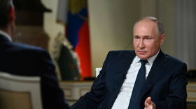 It's wrong to say Russia doesn't tolerate political dissent, Putin blasts, as interview with NBC descends into row over Navalny