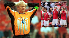 'Did they have any choice?' Goalkeeping legend Peter Schmeichel says Denmark were threatened with forfeit after Eriksen nightmare