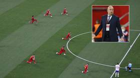 'I won't tell anyone what to do': Russia boss Cherchesov reacts to fans booing Belgium players taking a knee