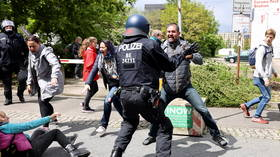 Anti-lockdown movement is breeding ground for far-right extremism, says German intelligence agency