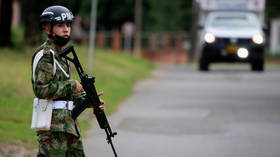 VIDEO shows car bomb tearing through Colombian military base, leaving at least 36 injured