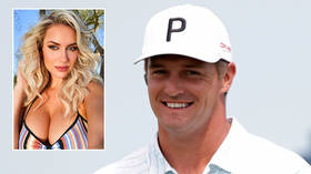 'It makes me sick': Golf bombshell Paige Spiranac claims she 'might throw up' over picking tour hulk Bryson DeChambeau for US Open