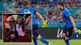 Another Ron! Italy hero Locatelli follows Cristiano's lead by SNUBBING Coca-Cola bottles at Euro 2020 (VIDEO)