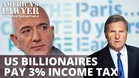 US billionaires paid just 3% in income tax
