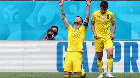 Ukraine edge past North Macedonia to earn first Euros win in nine years as more penalties missed