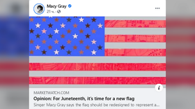 Pop star Macy Gray demands woke makeover for 'divisive' American flag, complete with colored stars for each race