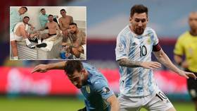'Let's f*cking go!': Messi celebrates Argentina Copa America win with sweary Instagram post and bath photo with teammates