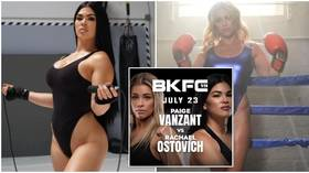 Skip to it: Ex-UFC's Ostovich flaunts curves on social media as she amps up training for VanZant bare-knuckle bout (PHOTOS)