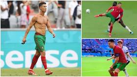 Jekyll and Hyde: Ronaldo displays flashes of brilliance… but trolled for atrocious dribbling as Portugal beaten by Germany (VIDEO)