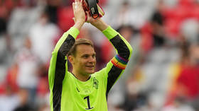 UEFA 'ends investigation into rainbow armband worn by Germany captain Neuer' amid backlash from LGBT campaigners