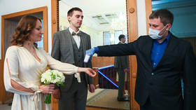 Love in the time of Covid-19: Major Russian city asks wedding guests to show negative tests or proof of vaccination as cases rise