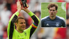 Germany star Goretzka says it would have been 'absurd' for UEFA to punish Manuel Neuer after rainbow armband row