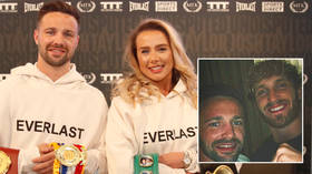 'We had a good laugh': Boxing king Josh Taylor on his meeting with Logan Paul, the love of his fiancee and Scotland at Euro 2020