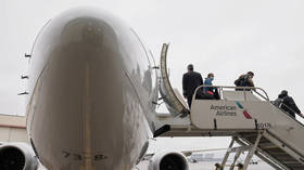 US airlines and crew unions call on Biden administration to JAIL unruly passengers amid surging in-flight violence