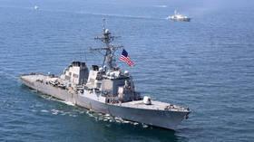 Russia demands US scrap 'aggressive' Black Sea naval war-games, warning drills fuel tensions & increase risk of deadly incidents