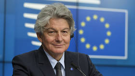 EU commissioner Thierry Breton suggests Brussels could block vaccine exports to UK if it fails to comply with Brexit terms