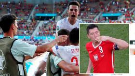 Exit Poles: Lewandowski tears as Poland endure agonizing Euro 2020 exit to Sweden, Spain smash Slovakia, Ukraine advance (VIDEO)