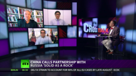 Russia-China embrace
